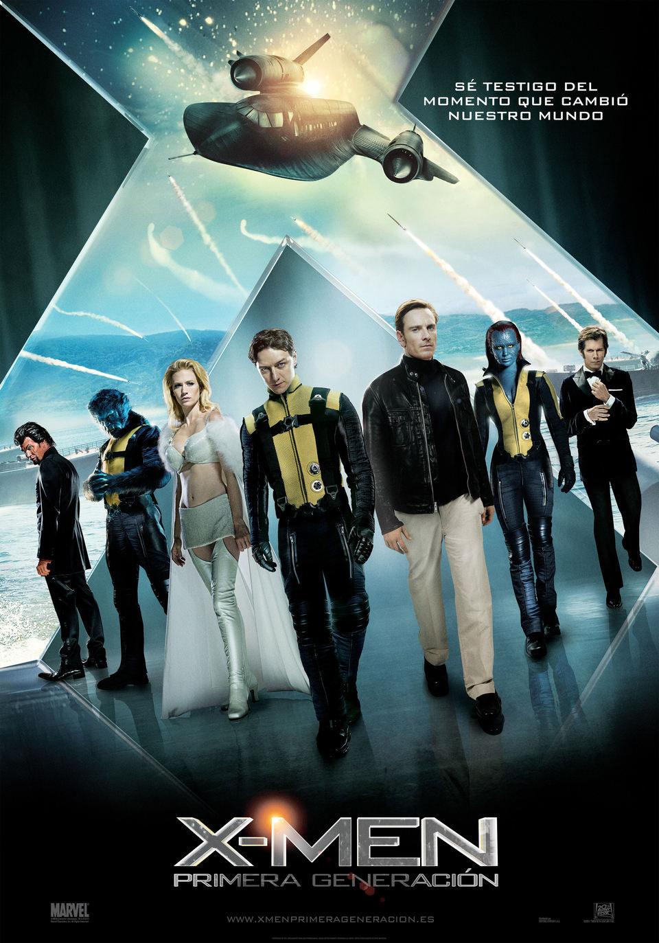 Cartel España de 'X-Men: Primera generación'