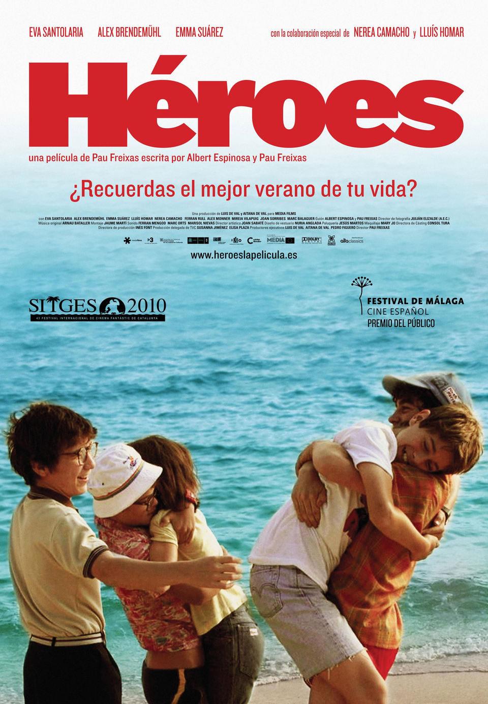Cartel España de 'Héroes'