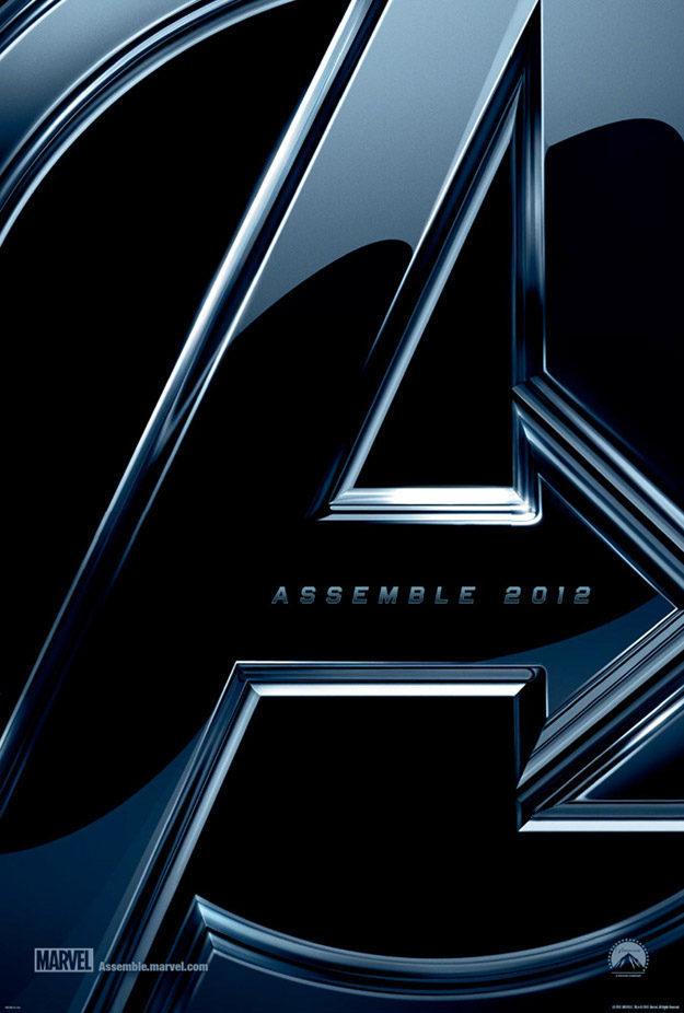 Cartel Teaser EEUU de 'Los Vengadores'