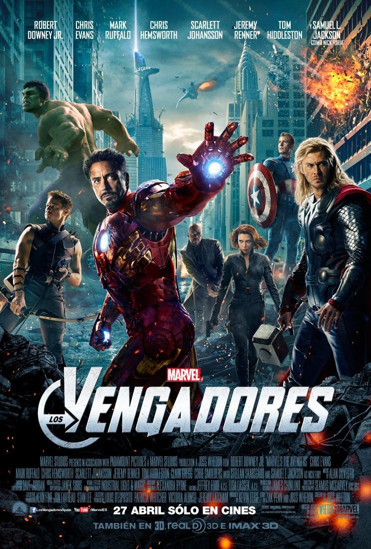 Cartel España de 'Los Vengadores'