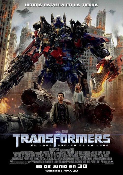 Transformers 3 El Lado Oscuro De La Luna 2011 Película Ecartelera