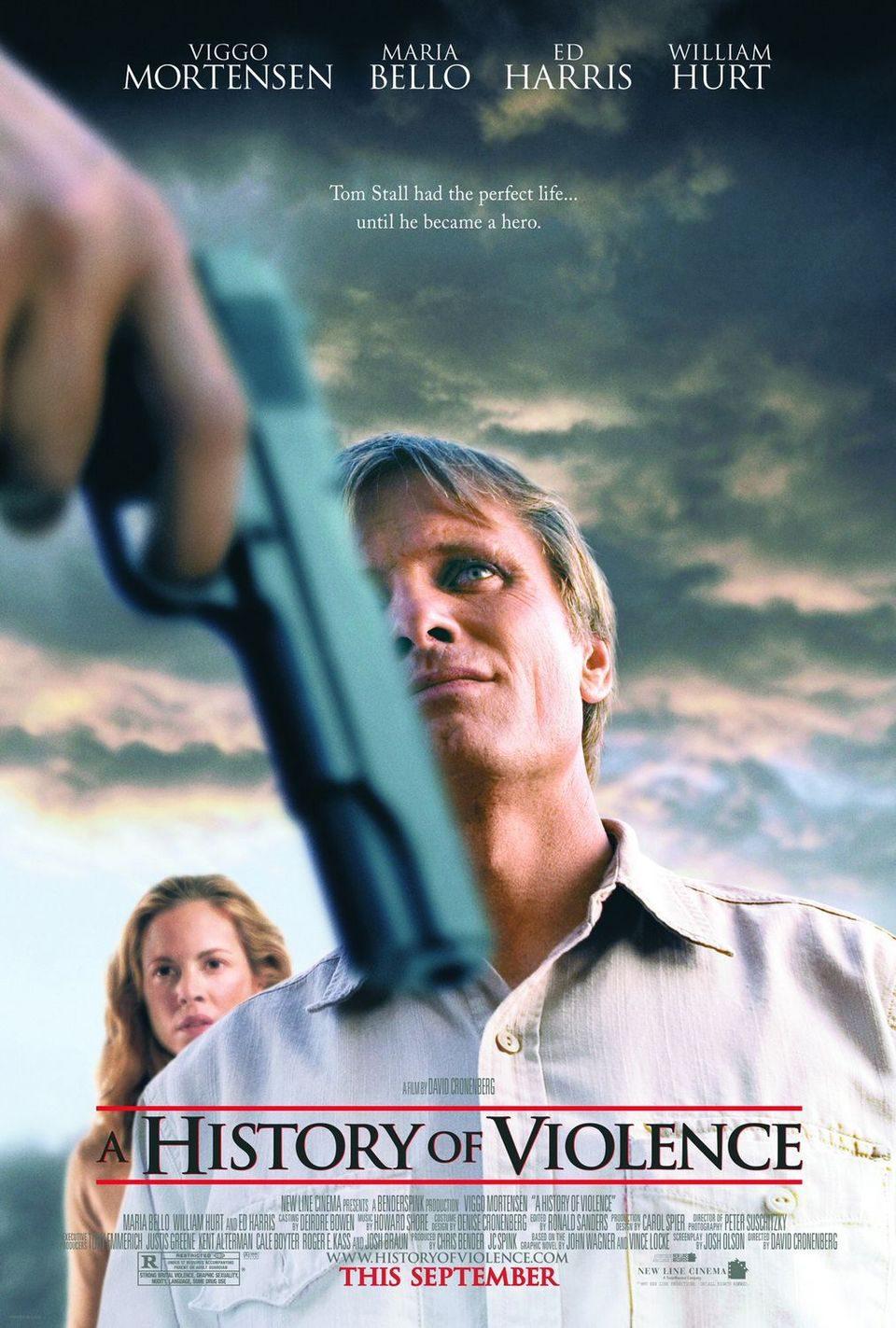 Cartel EEUU de 'Una historia de violencia'