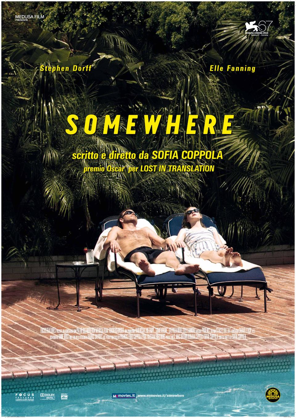 Cartel Estados Unidos de 'Somewhere'