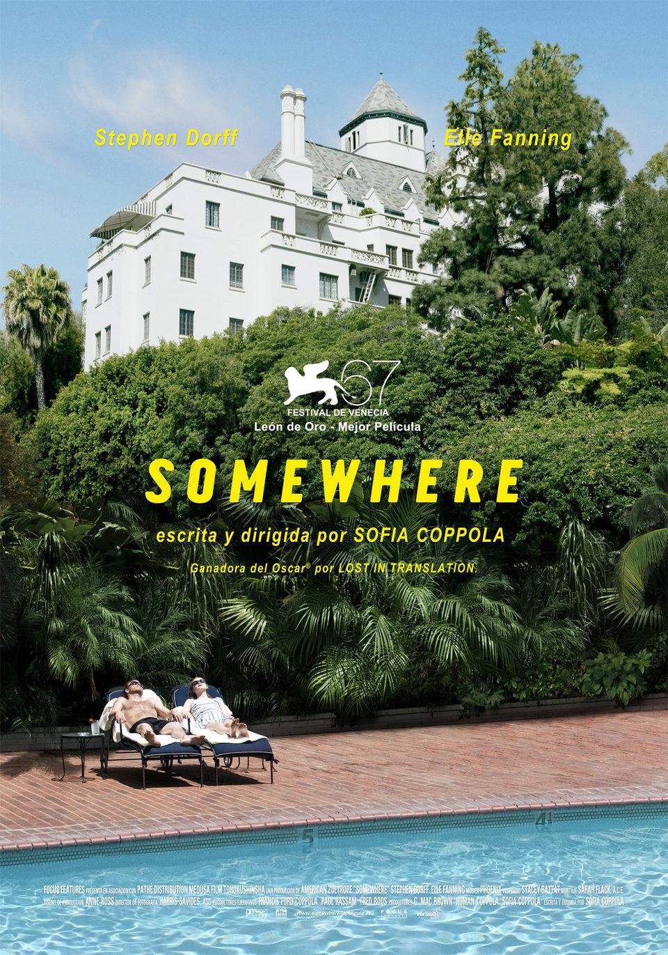 Cartel España de 'Somewhere'