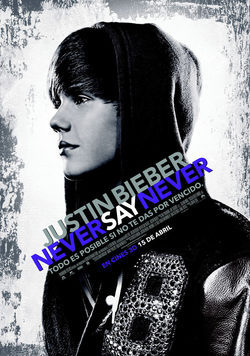 Cartel de Never Say Never