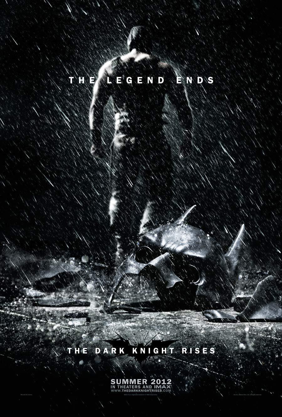 Cartel EEUU de 'El Caballero Oscuro: La leyenda renace'