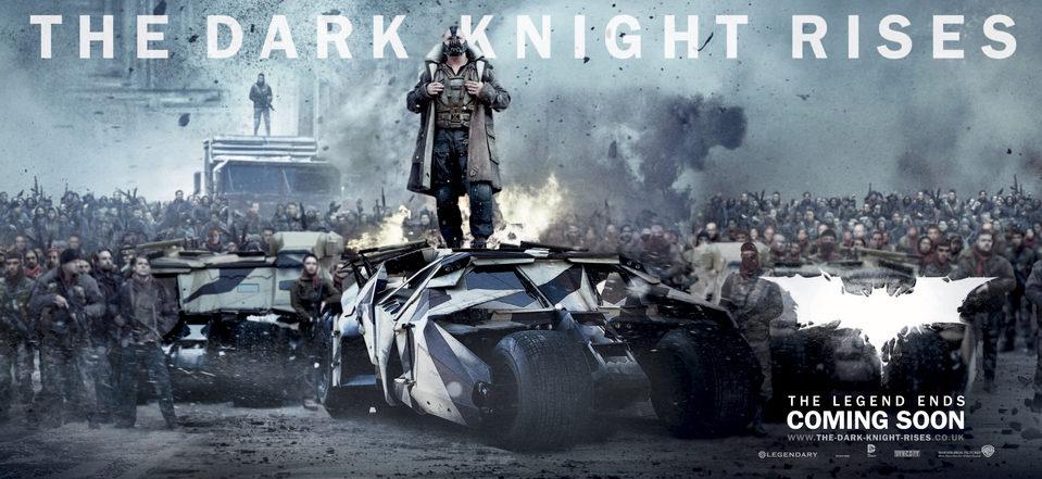 Cartel Banner #4 de 'El Caballero Oscuro: La leyenda renace'