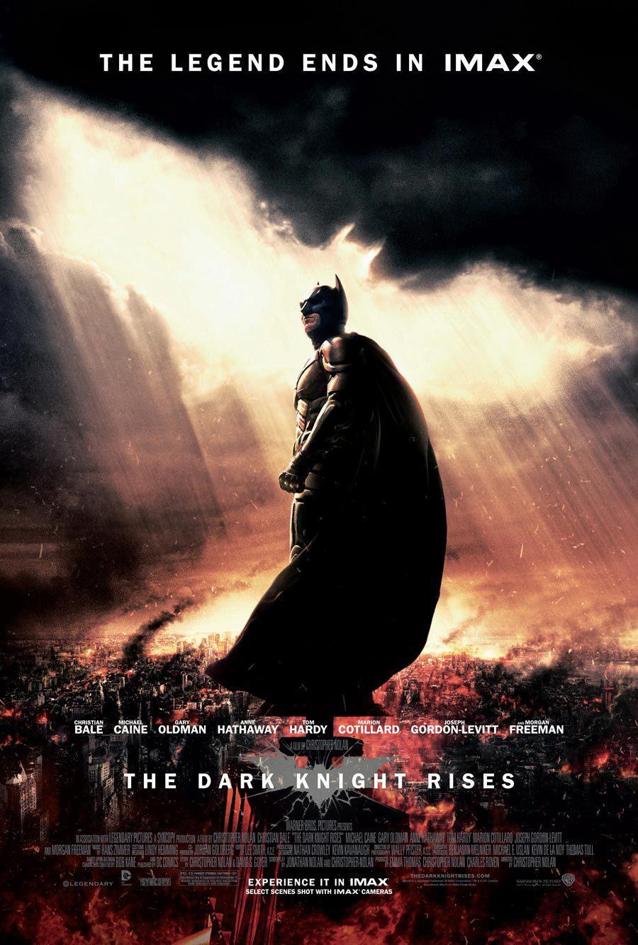 Cartel IMAX de 'El Caballero Oscuro: La leyenda renace'