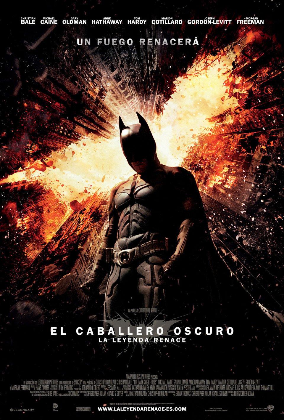 Cartel España #2 de 'El Caballero Oscuro: La leyenda renace'