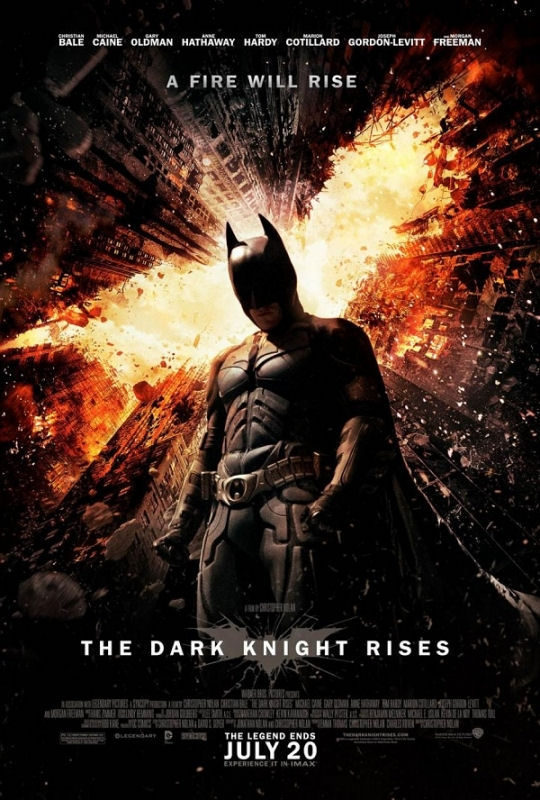 Cartel Reino Unido de 'El Caballero Oscuro: La leyenda renace'