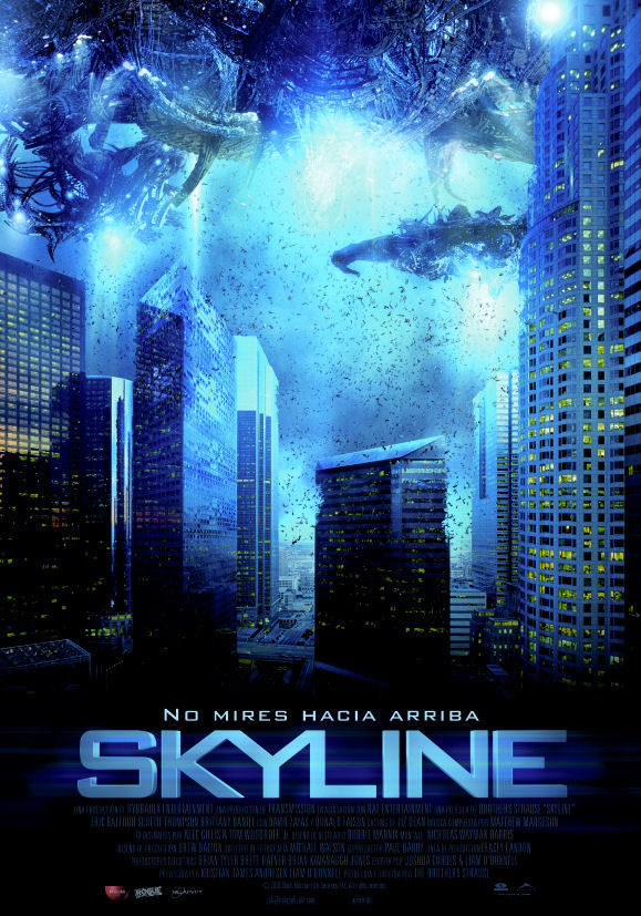 Cartel España de 'Skyline'