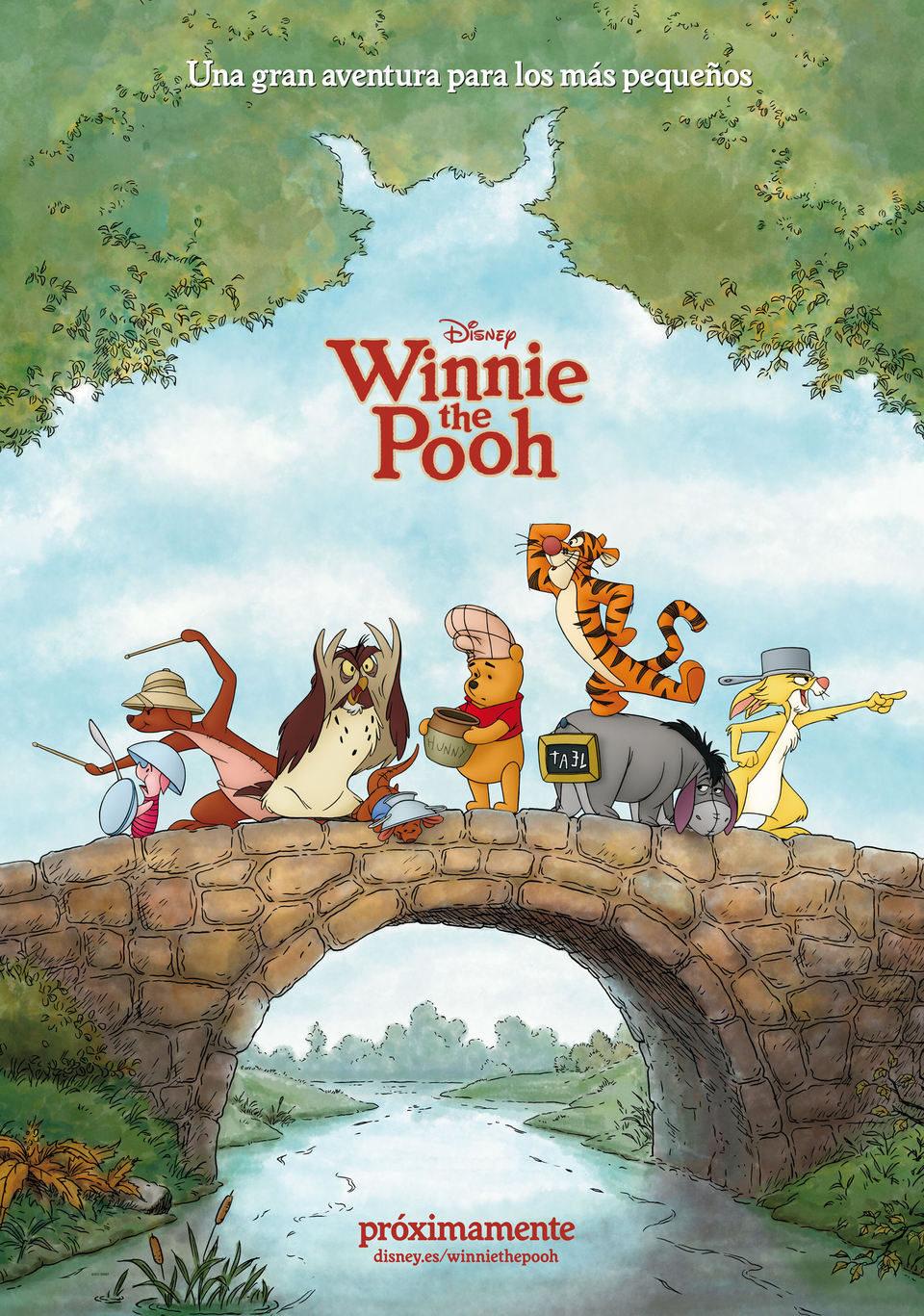 Cartel España de 'Winnie the Pooh'