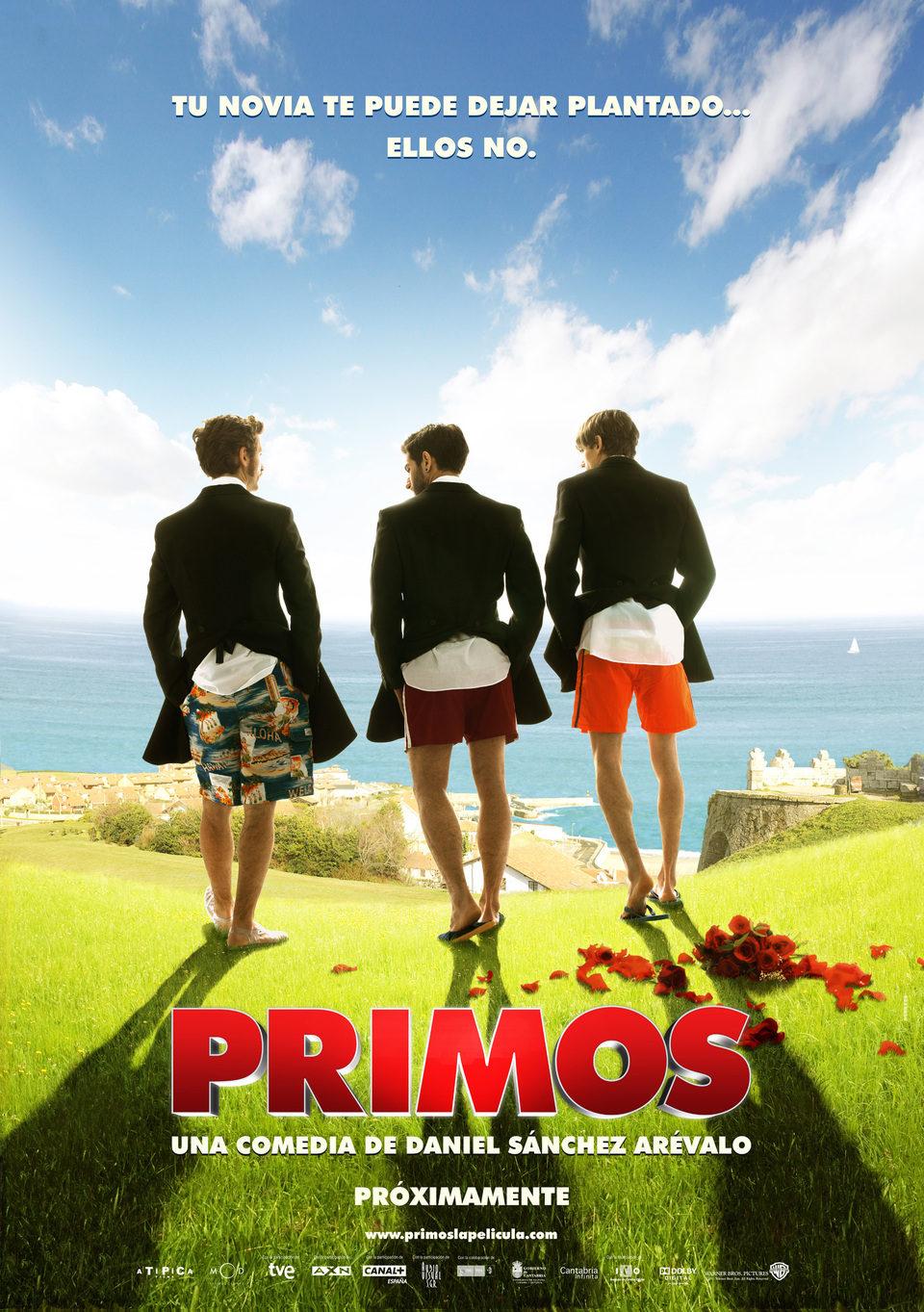 Cartel Teaser España de 'Primos'
