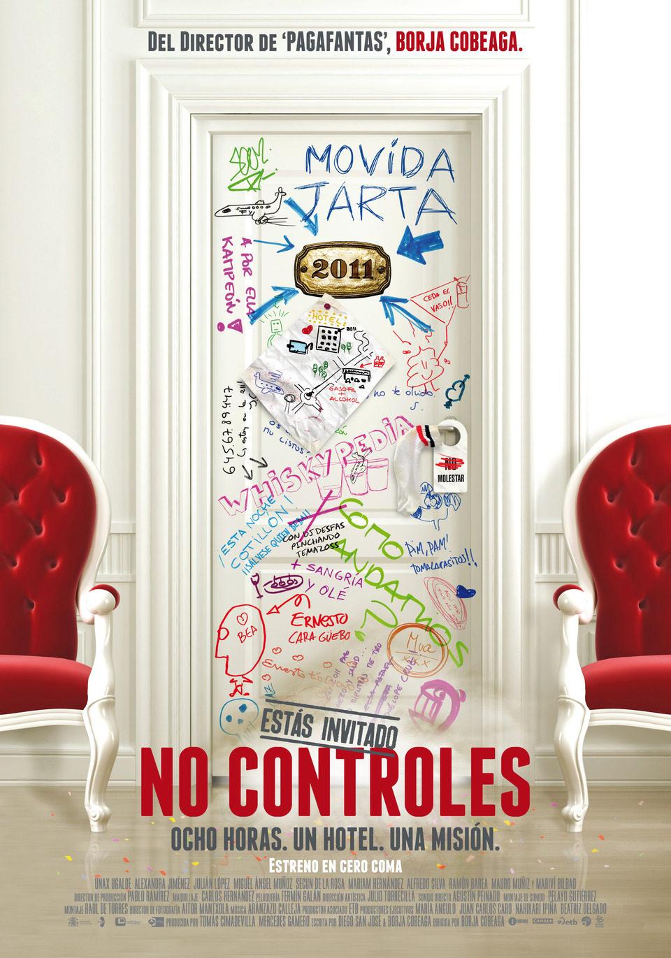 Cartel Teaser España de 'No controles'