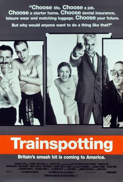 Cartel de Trainspotting