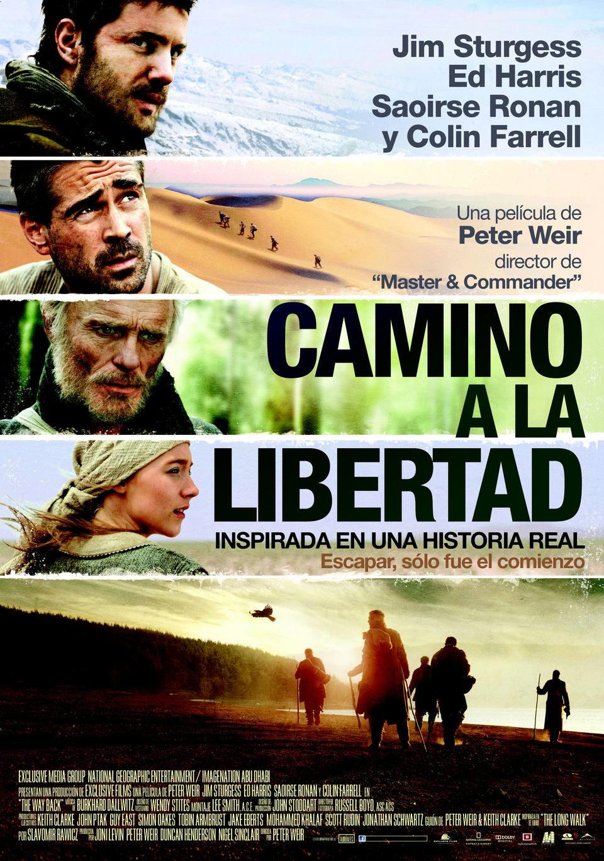 Cartel España de 'Camino a la libertad'