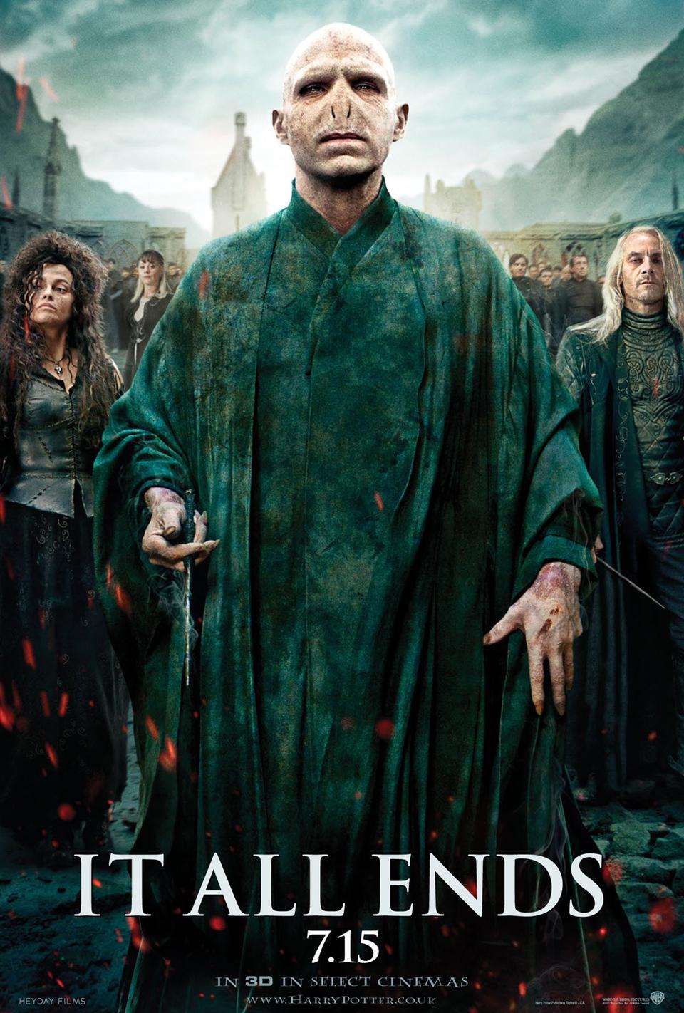 Cartel EEUU 2 de 'Harry Potter y las reliquias de la muerte: parte 2'