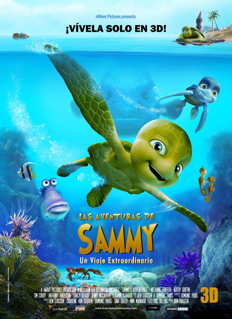 Cartel España de 'Las aventuras de Sammy'