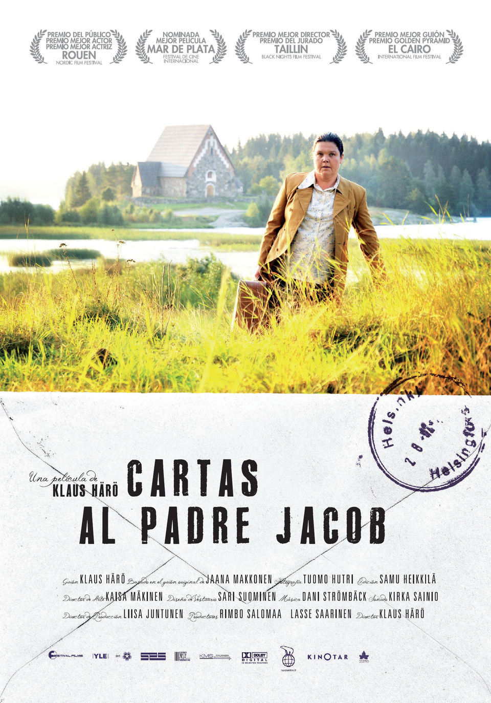 Cartel España de 'Cartas al padre Jacob'