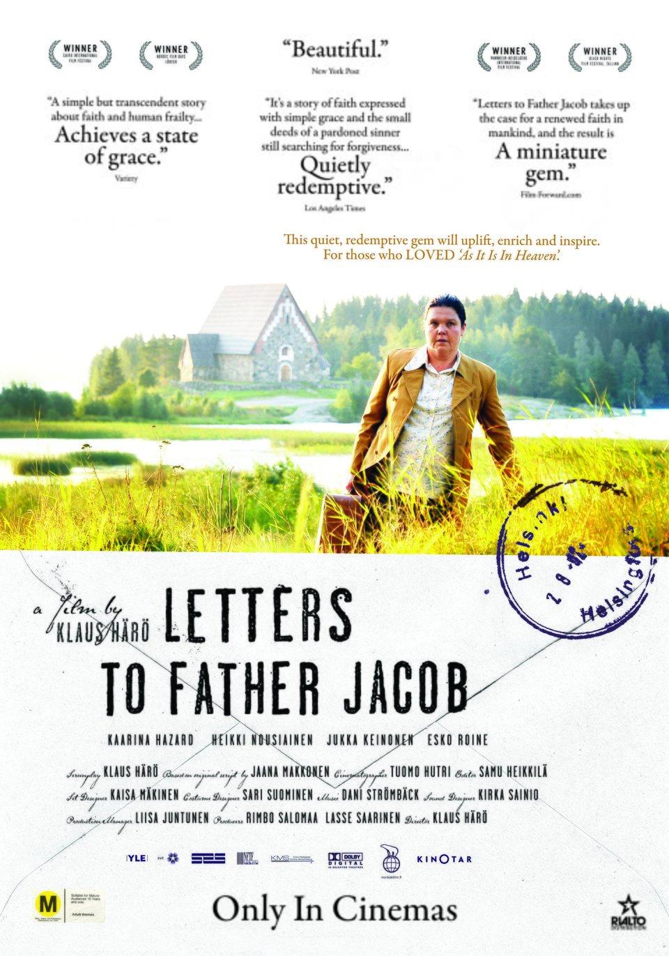 Cartel UK de 'Cartas al padre Jacob'