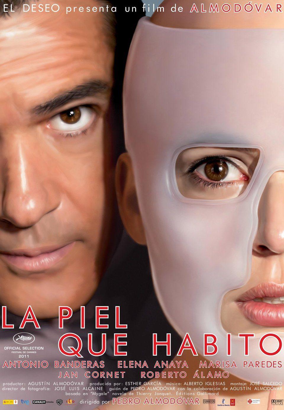 Cartel España de 'La piel que habito'