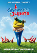 Cartel de Gnomeo y Julieta