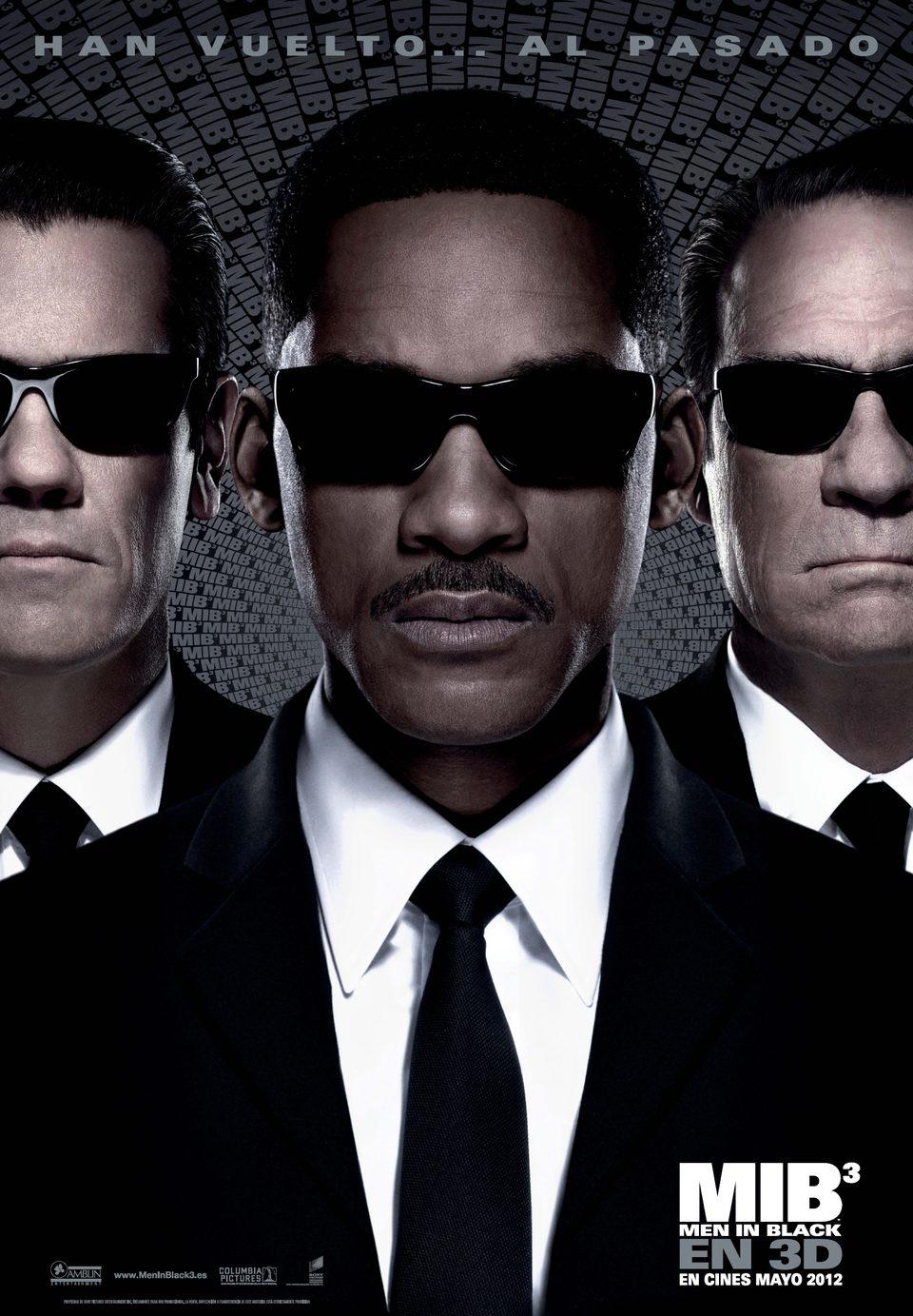 Cartel España de 'Men in Black 3'