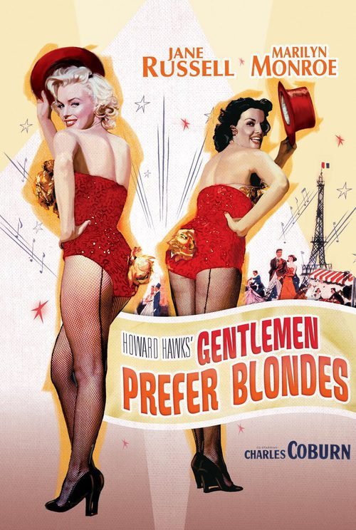 Los caballeros las prefieren rubias (1953) - Película eCartelera