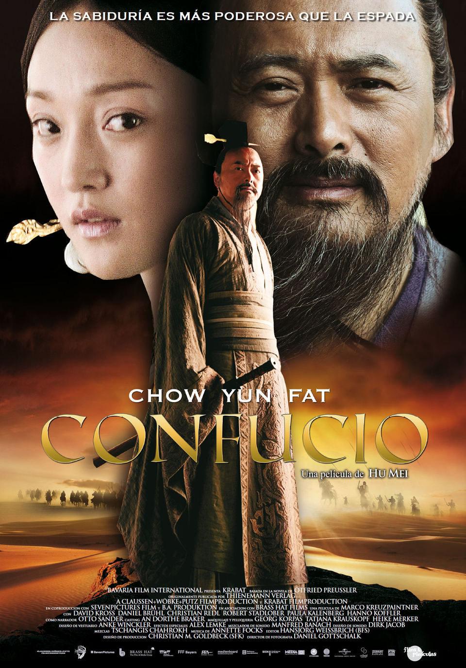 Cartel España de 'Confucio'