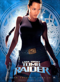 Cartel de Lara Croft: Tomb Raider