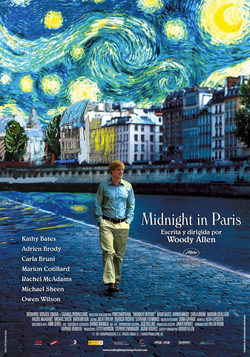 Cartel de Midnight in Paris