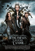 Cartel Blancanieves y la leyenda del cazador