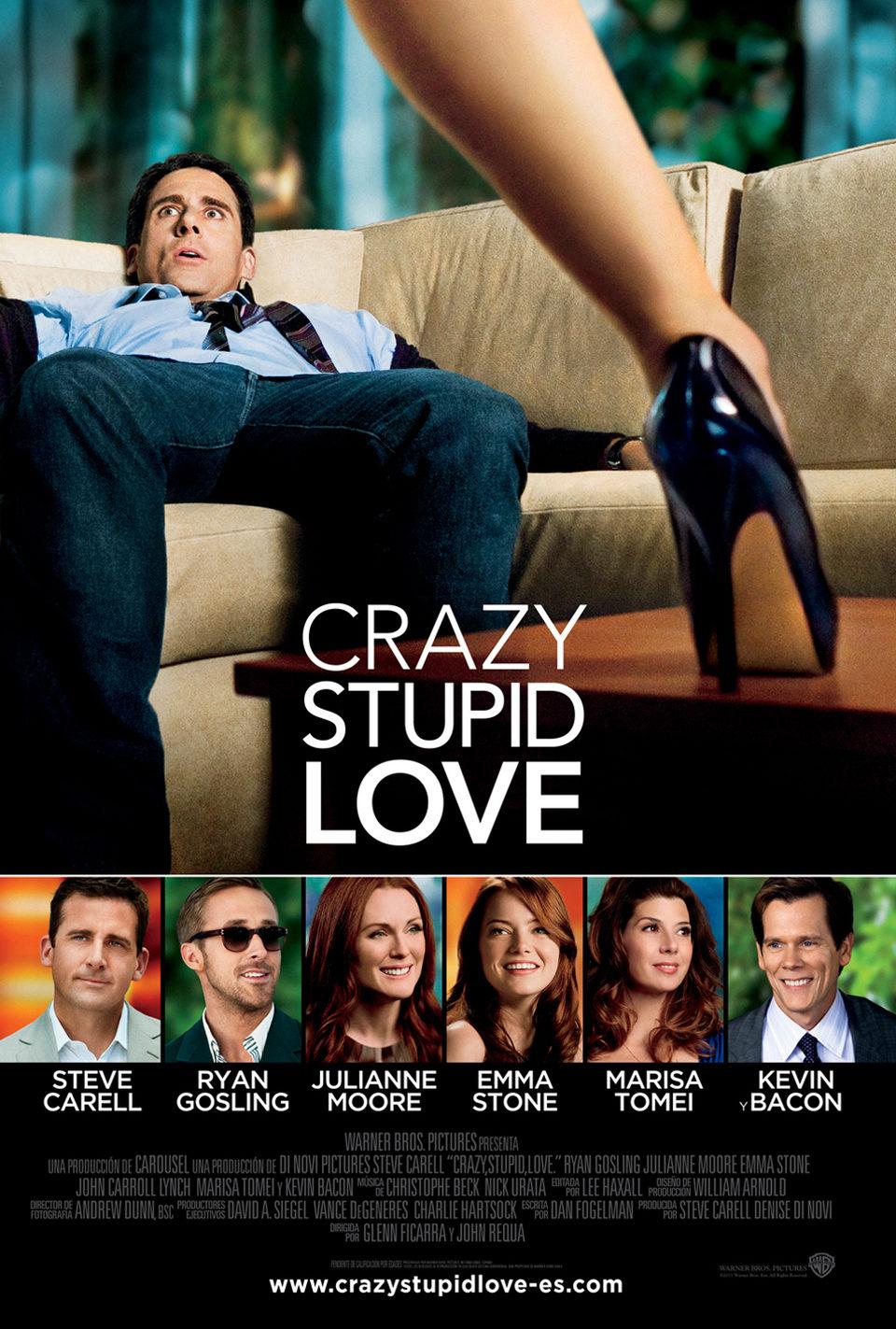 Cartel España de 'Crazy, Stupid, Love'