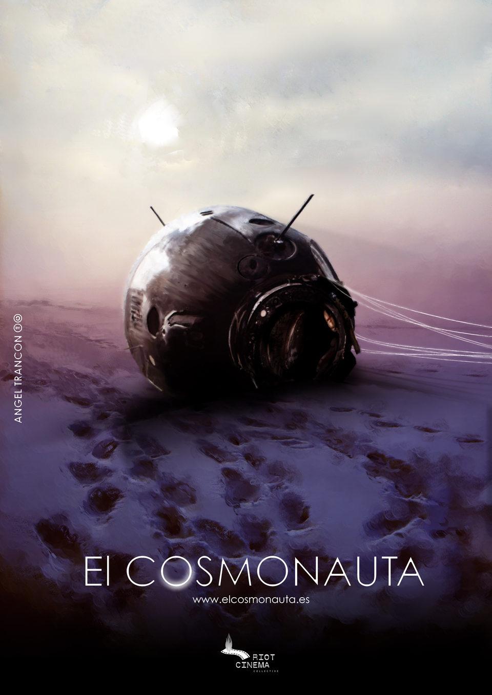 Cartel Teaser de 'El cosmonauta'