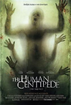 Cartel de The Human Centipede