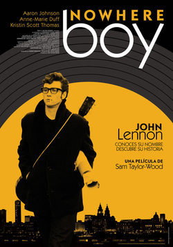 Cartel de Nowhere Boy