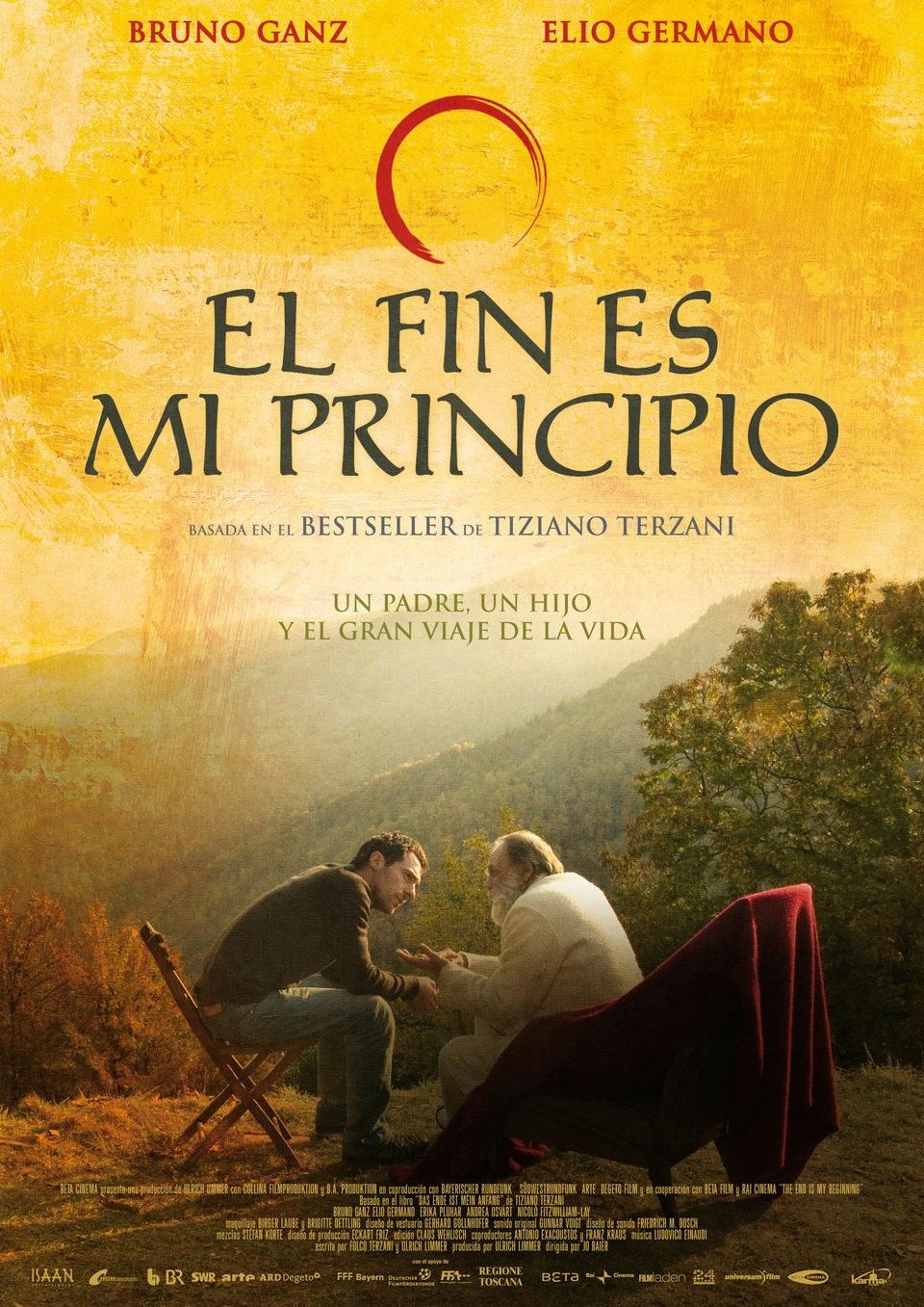 Cartel España de 'El fin es mi principio'