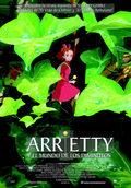 Cartel Arrietty y el mundo de los diminutos