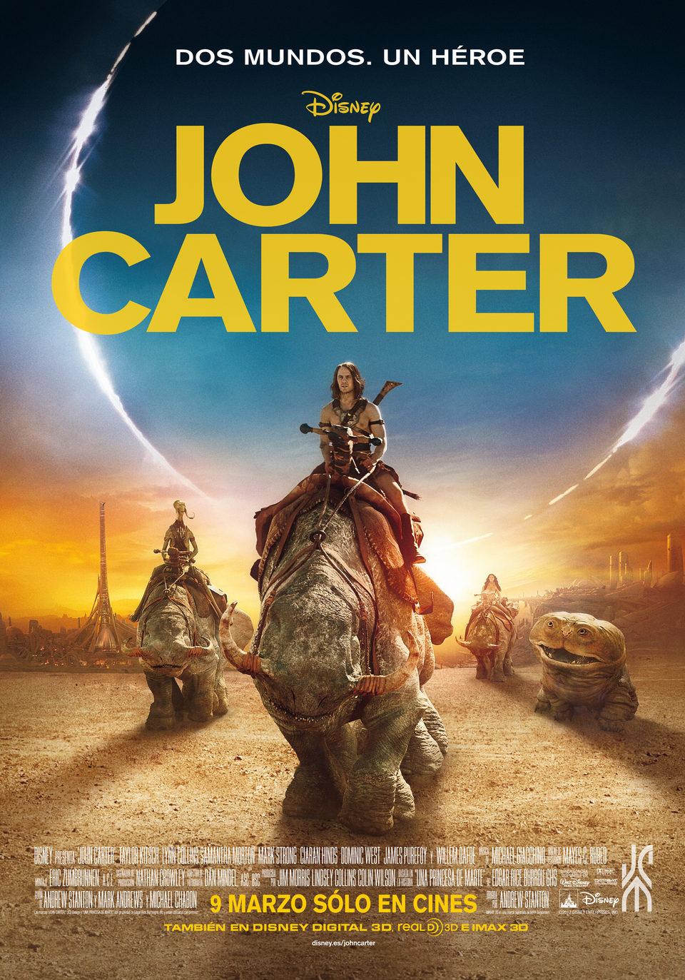 Cartel España de 'John Carter'
