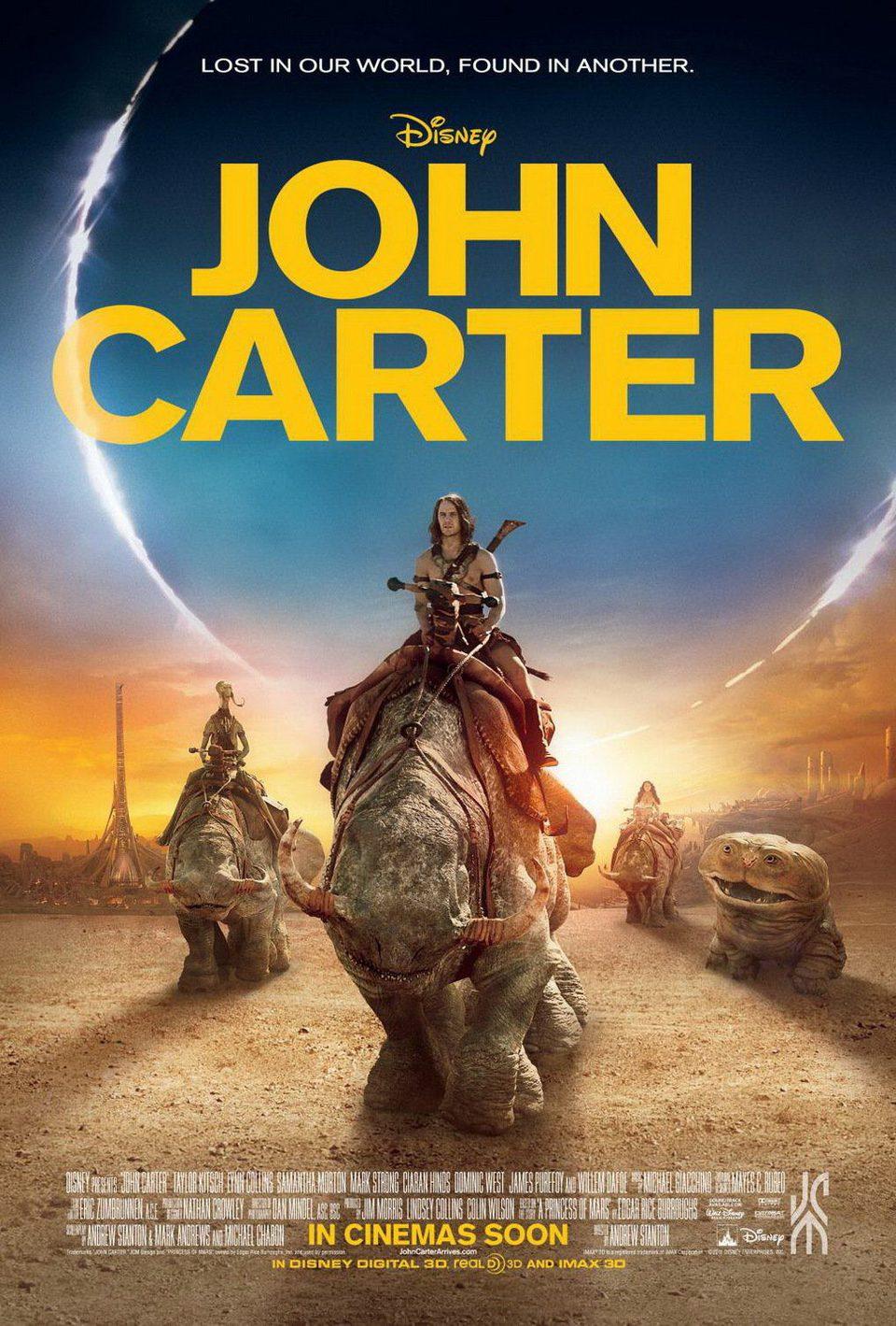 Cartel Estados Unidos de 'John Carter'