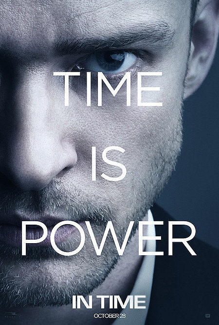 Cartel Justin Timberlake de 'In Time'