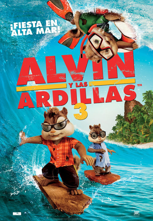 alvin y las ardillas 3 2011 pel237cula ecartelera