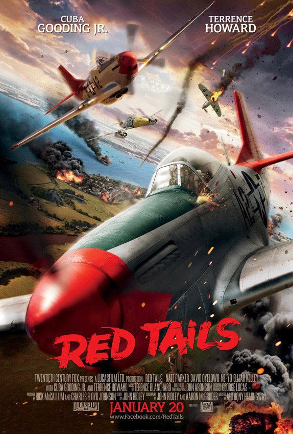Cartel EEUU de 'Red Tails'