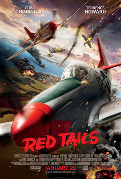 Cartel de Red Tails
