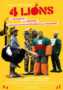 Cartel de Four Lions