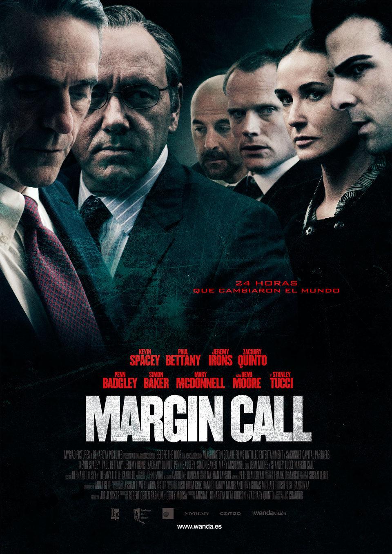 Cartel España de 'Margin Call'