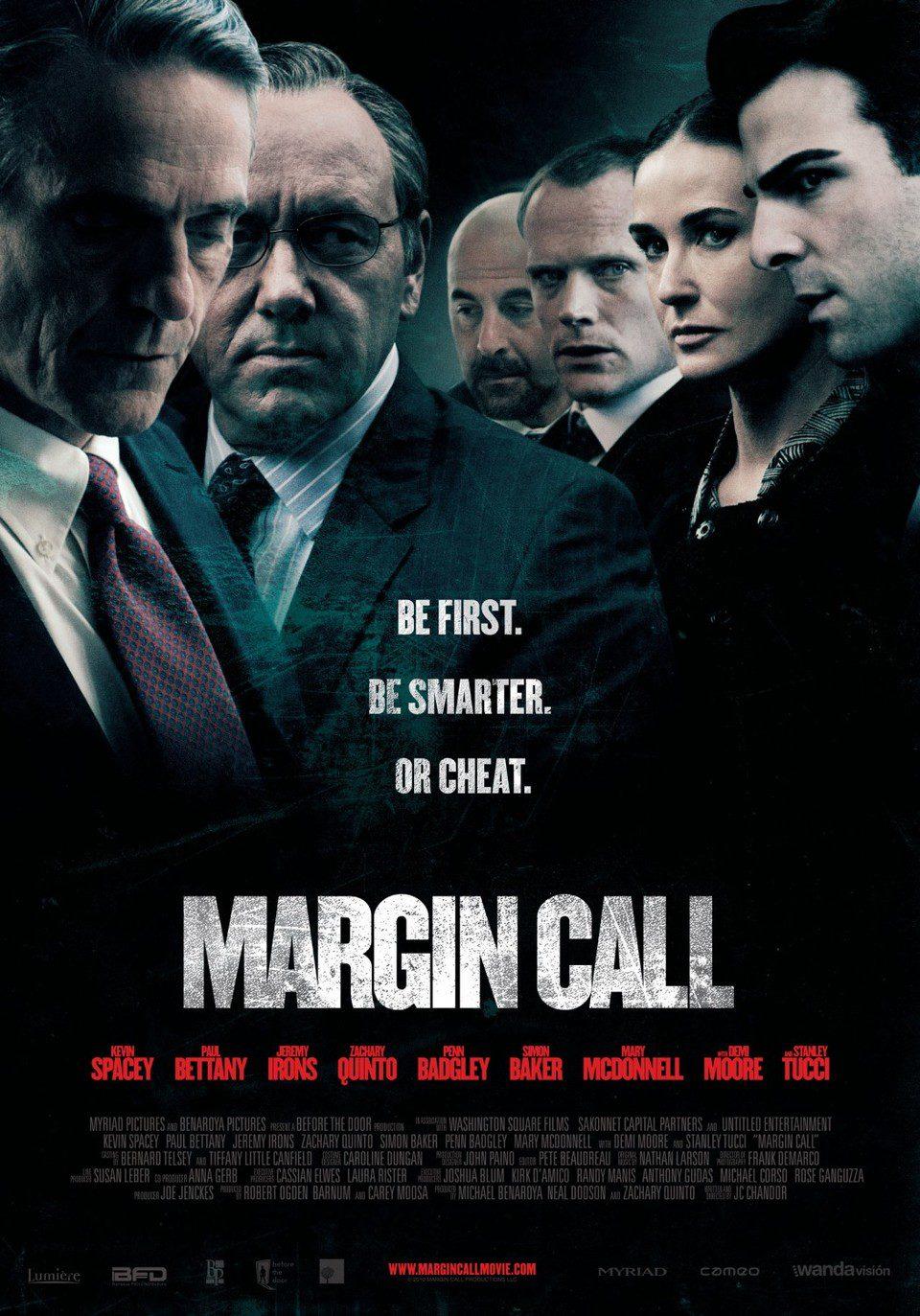 Cartel EEUU de 'Margin Call'