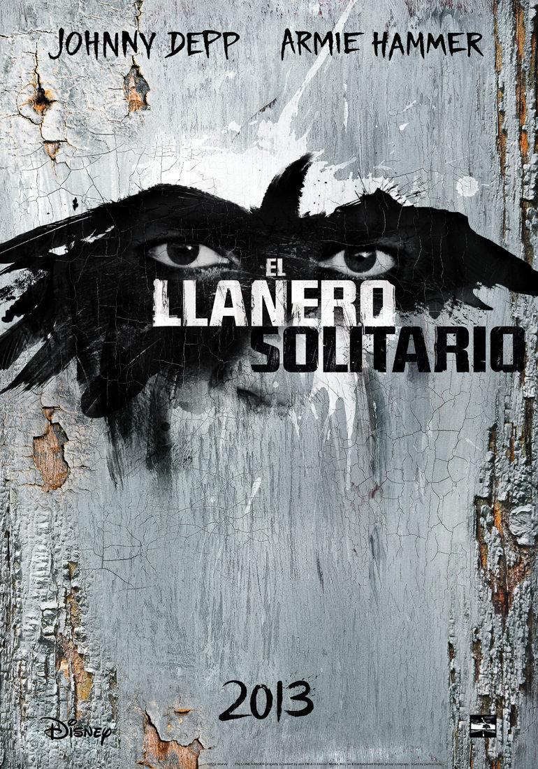 Cartel Teaser España de 'El llanero solitario'