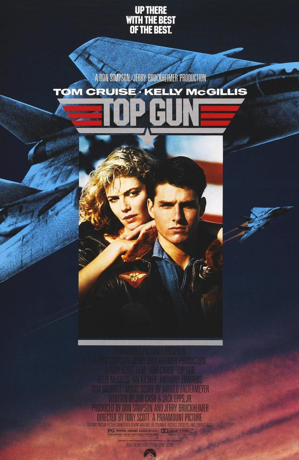 Cartel Estados Unidos de 'Top Gun. Ídolos del aire'