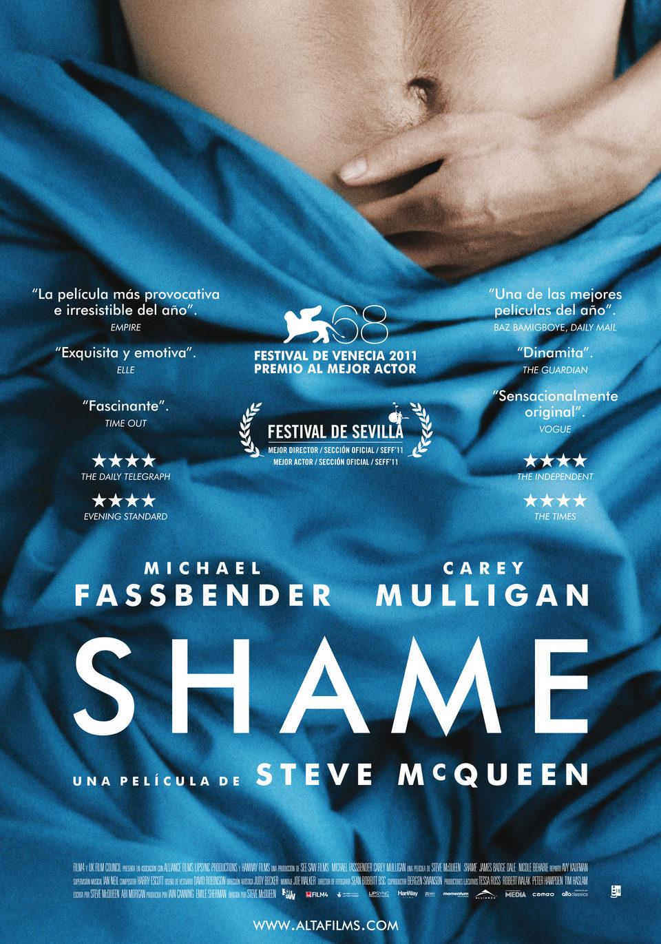 Cartel España de 'Shame'